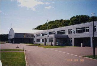 ぱれっとふぁーむ(旧幌南中学校)舎門より