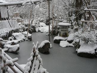 興行寺 中庭