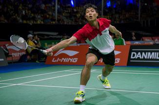 Tien Chen Chou (TPE) steht im Halbfinale (Bild: Bernd Bauer)