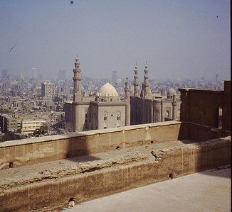 uitzicht over Cairo