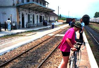 Mit dem Zug von Salonike nach Veria