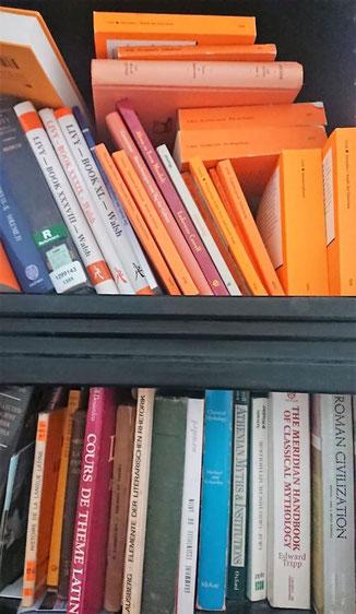 Bücherregal im HomeOffice von Marianne Wild