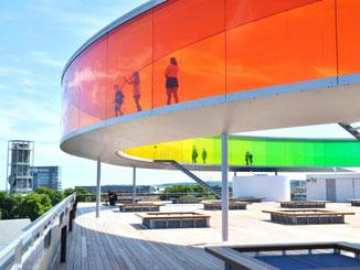 Anlaufpunkt nicht nur im Kulturhauptstadtjahr: das Kunstmuseum von Aarhus. Foto: Visit Aarhus/dpa-tdm
