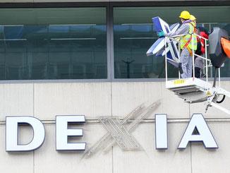 Die belgisch-französische Dexia-Bank schnitt 2011 glänzend ab, musste aber wenig später als erstes großes Opfer der Euro-Schuldenkrise zerschlagen werden. Foto: Julien Warnand