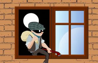 Diebstahl- und Einbruchschutz: Welche effektiven Maßnahmen  gibt es - Hausbesitzer - Fenster - Wohnungseinbrüche in Deutschland  - Einbrecher - Sicherheit - Alarmanlage - Hausplanung