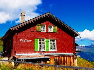 die Villa Maria, früher eine beliebte Unterkunft auf der Scheidegg