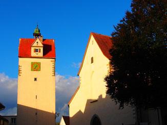 die alte Reichs-Stadt Isny ist noch überall zu spüren