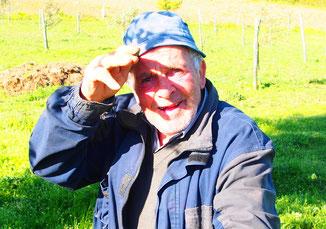 Guiseppe war der Dorf-Hirte, er liebte seine Schafe