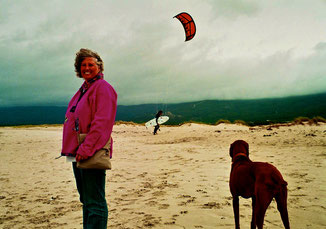 Sky Surfer genossen den starken Wind