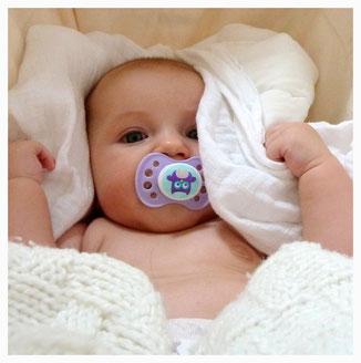 Baby liebt seine Wombagee