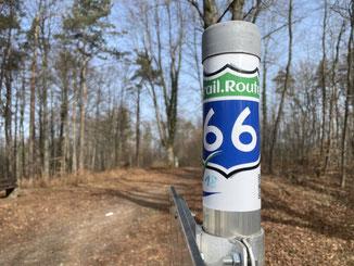 auf der Trail.Route.66