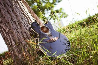 Gitarre für Hochzeitsmusik