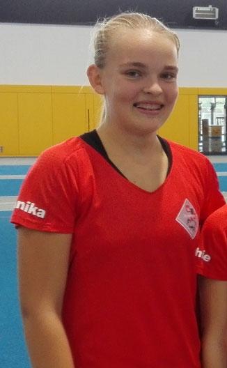 Annika Schepers konnte sich über ihren ersten 12m Stoß freuen