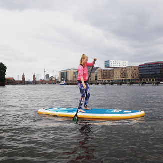 Stand up paddling (SUP) at StandupClub Berlin