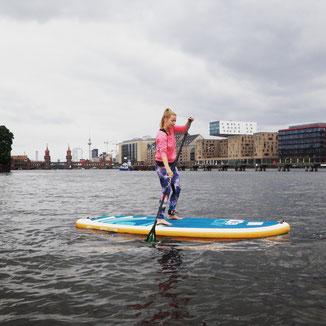 Stand up paddling (SUP) at StandupClub Berlin