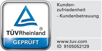 e-Bike Versicherung mit TÜV Siegel