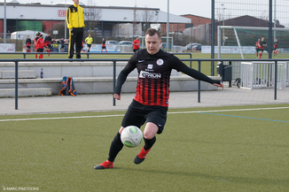 Adrian Goj erzielte das zwischenzeitliche 2:0 (Foto: Marc Pastoors)