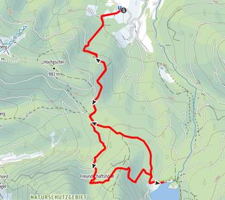 Laudachsee, Ausblick Katzenstein, Freundschaftshöhe