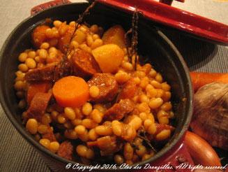 Cassolette de haricots coco, saveurs d'Espagne