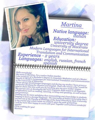 italian course with native teacher