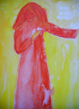Roter Engel © Ines Nandi