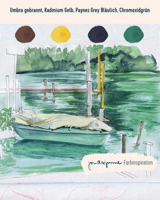 urban sketching, Farbauswahl, Farben mischen, Aquarellfarben, Farbenlehre, Plein air Malerei, youdesignme