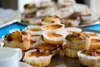 Muffins, Catering der Produktionsschule Altona auf Charitymarket.de fair, nachhaltig, handgemacht