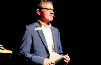 Der amtierende Präsident des Lions Clubs Sulinger Land Torsten Blietschau. (Bartels)