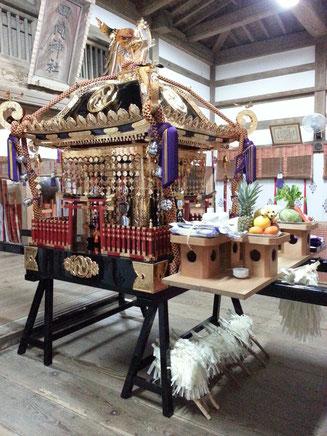 田間神社 神輿