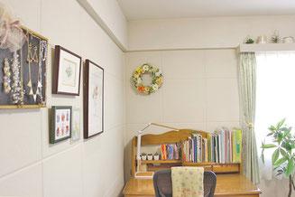 整理収納後の部屋の写真