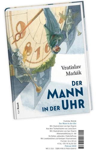 """01.02.18 """"Der Mann in der Uhr"""", Karl Rauch Verlag 2018."""