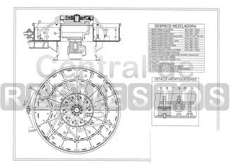 Despiece mezcladora Betonmass ST 1500 CD