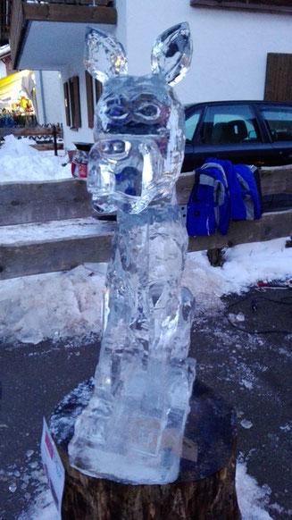 Eiswettbewerb der Stadt Oberstdorf - Irische Doge im Hof