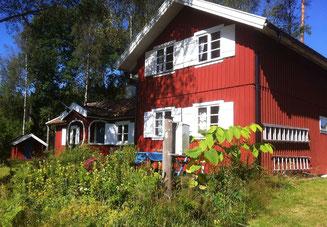 Ferienhaus in Schweden am See, mit Boot, Alleinlage