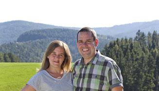 Verena Scheidel und Manuel Wassmer
