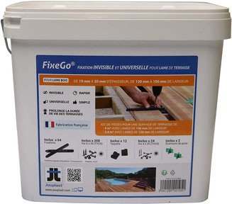 Kit complet de fixation Fixego par JOUPLAST