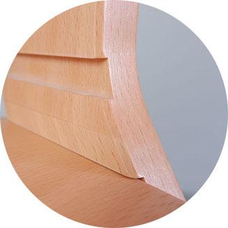 Tissi Hochstuhl von dawost, Kinderstuhl Holz mitwachsend