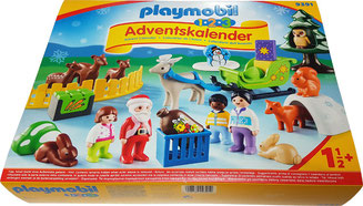 Playmobil Adventskalender Waldweihnacht, Playmobil Waldweihnacht, Playmobil 123 Waldweihnacht