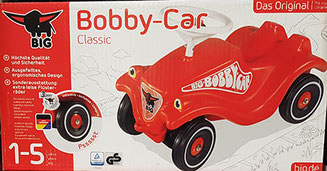 Verpackung Bobby-Car Classic von Big