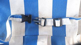 längenverstellbarer 2-Punkt-Sicherheitsgurt