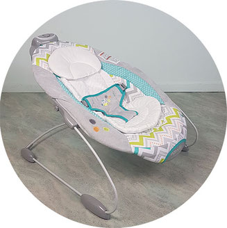 Ingenuity Wippe Ridgedale, Ingenuity Babywippe Test, Ingenuity Wippe