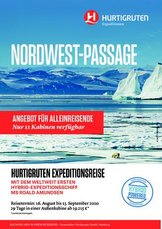 Nordweste Passage Hurtigruten