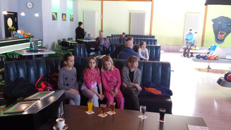 v.l.: Maja, Lea, Joline und Diana