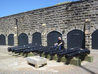 Rudi als Münchhausen in der Zitadelle