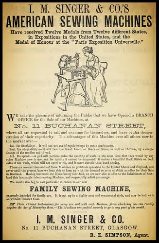 1858 Advertisement