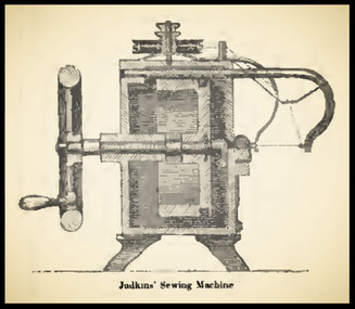 1851  Judkins' Sewing Machine