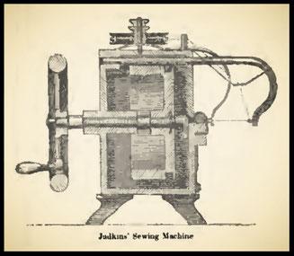 1851  Judkins' Sewing Machine
