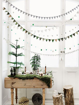 Christmas Garland Decor Idea