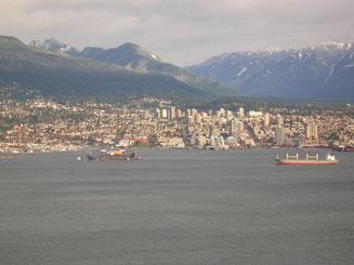 Morgens Skifahren und nachmittags Schwimmen gehen, in Vancouer ist das möglich.