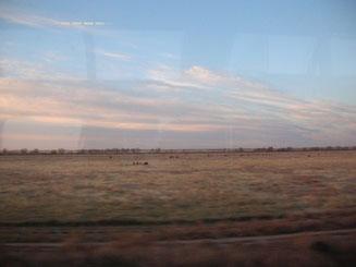 Ungefähr acht Stunden später bei Sonnenaufgang in Missouri